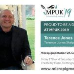 Terence Jones wins Micro Pigmentation UK Award