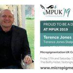 Terence Jones Wins Micro Pigmentation UK Award