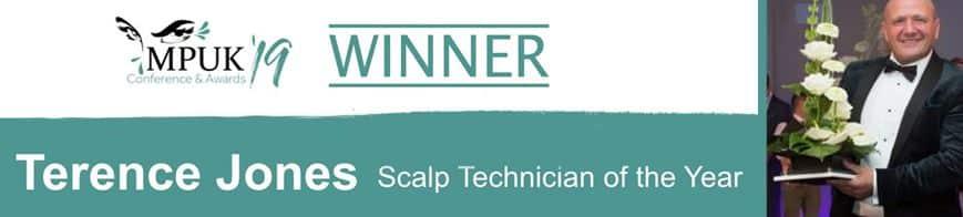 SMP Award winner 2019, terence jones, skalptec ltd