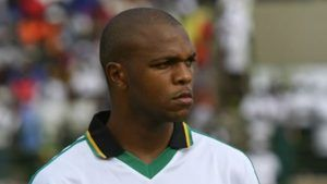 quinton fortune with smp playing football